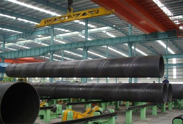 SSAW Pipe Loading