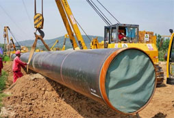 Transporte por gasoductos in Russia
