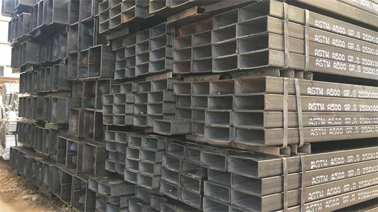 astm a500 erw rectangular steel tube
