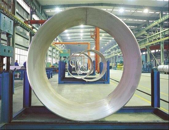 large diameter ss pipe